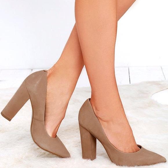 30cb41b4b9a Steve Madden 'primpy' camel pump heels